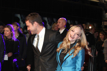 Justin Timberlake Amanda Seyfried In Time - UK Premiere - Outside Arrivals