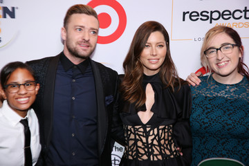 Justin Timberlake Jessica Biel GLSEN Respect Awards - Los Angeles - Red Carpet