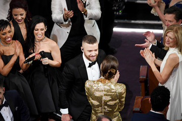 Justin Timberlake Jessica Biel 89th Annual Academy Awards - Show