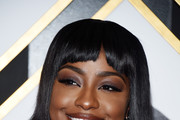 Justine Skye Short Cut With Bangs