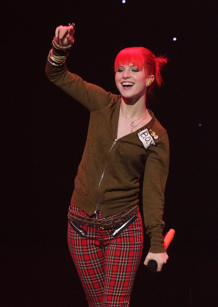 More Pics Of Hayley Williams Skinny Pants 1 Of 18