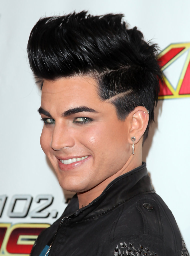 adam lambert hair style more pics of adam lambert spiked hair 3 of 7 adam 7937