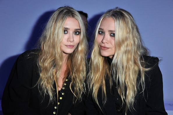 Ashley+Olsen in KW by Kanye West: Front Row - Paris Fashion Week Spring / Summer 2012