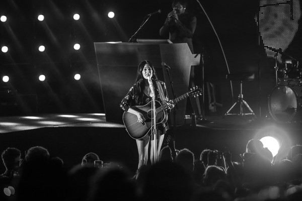 More Pics of Kacey Musgraves Pajamas (1 of 29) - Pajamas & Intimates Lookbook - StyleBistro [performance,entertainment,guitarist,musician,music,performing arts,concert,black,rock concert,music artist,los angeles,ca,greek theatre,kacey musgraves in concert,kacey musgraves]