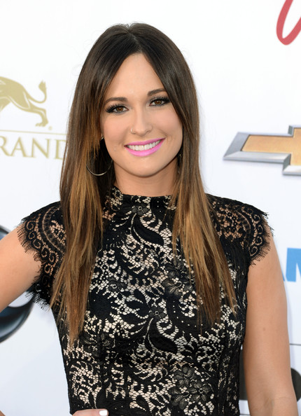 Kacey Musgraves Long Straight Cut
