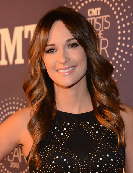 Kacey Musgraves Long Wavy Cut [hair,face,hairstyle,brown hair,eyebrow,long hair,layered hair,beauty,chin,lip,arrivals,kacey musgraves,franklin,the factory,tennessee,cmt artists of the year]