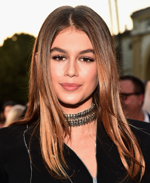 Kaia Gerber Sterling Choker Necklace