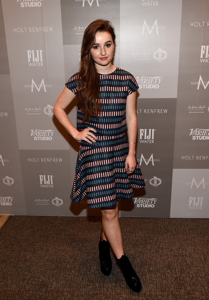 Kaitlyn Dever Ankle Boots [clothing,dress,cocktail dress,fashion,fashion model,hairstyle,footwear,carpet,premiere,shoulder,kaitlyn dever,toronto,canada,holt renfrew,variety studio,moroccanoil,toronto international film festival]