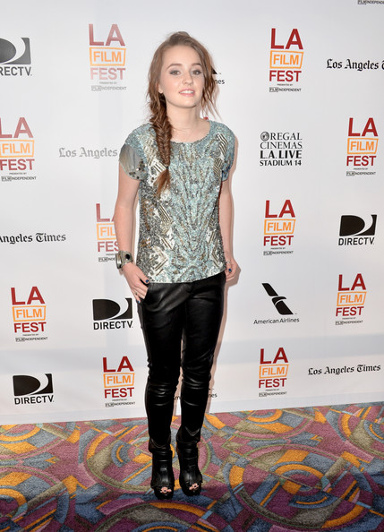Kaitlyn Dever Leather Pants