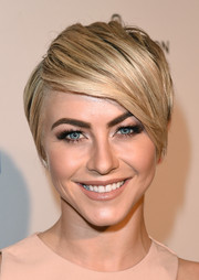 Julianne Hough looked trendy with her short emo cut at the 2014 Kaleidoscope Ball.