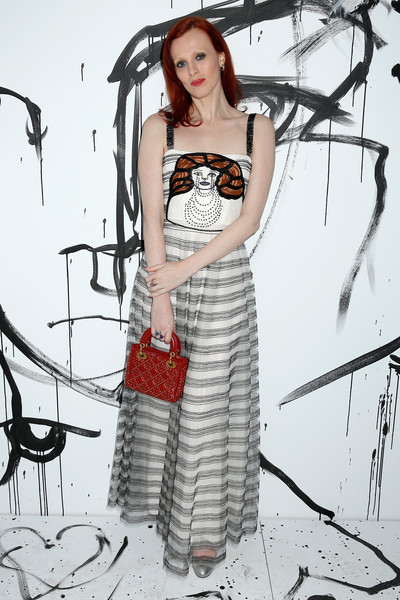 Karen Elson Embroidered Dress