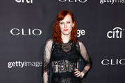 Karen Elson Sheer Dress