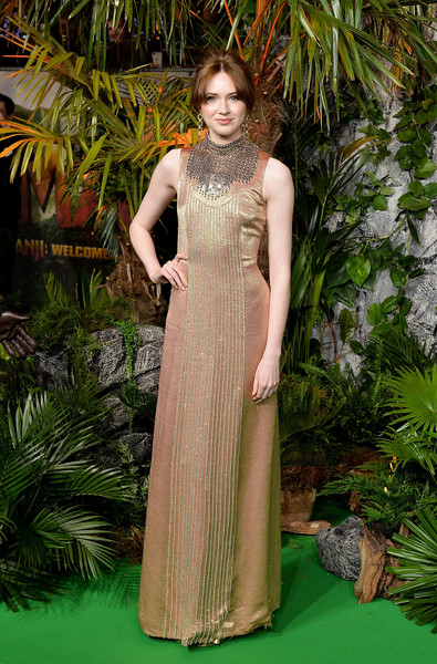 Karen Gillan Evening Dress
