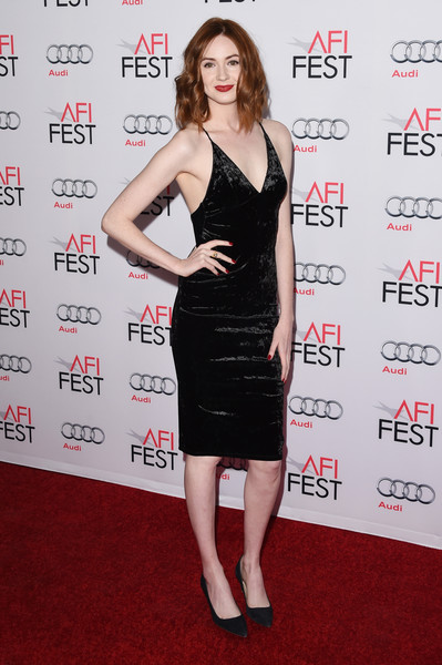 Karen Gillan Little Black Dress