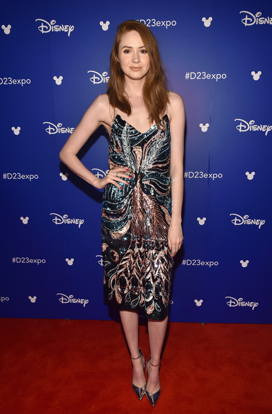 Karen Gillan Evening Pumps