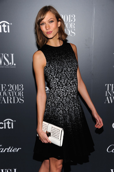 Karlie Kloss Studded Clutch