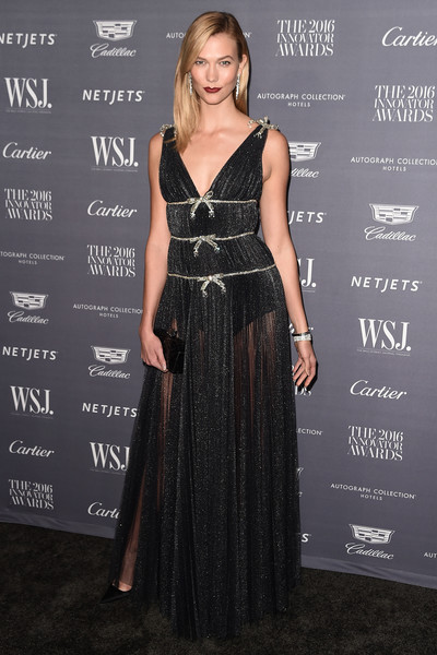 Karlie Kloss Sheer Dress