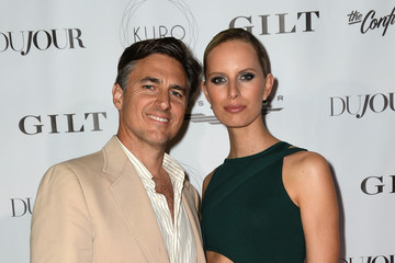 Karolina Kurkova Archie Drury DuJour Media, Gilt & JetSmarter Host a Party to Kick Off Art Basel at The Confidante