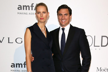Karolina Kurkova Archie Drury Arrivals at the Cinema Against AIDS Gala