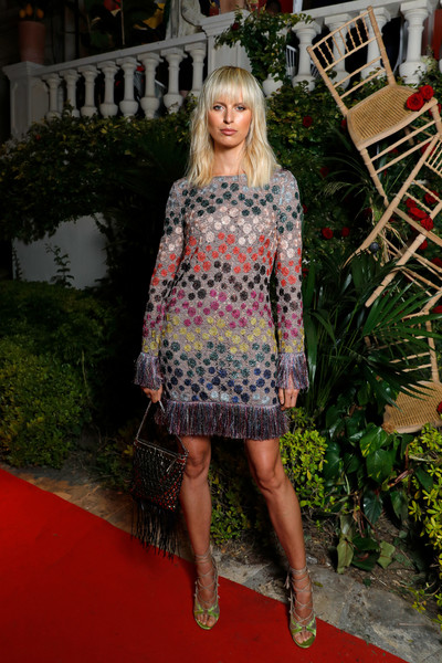 Karolina Kurkova Sweater Dress