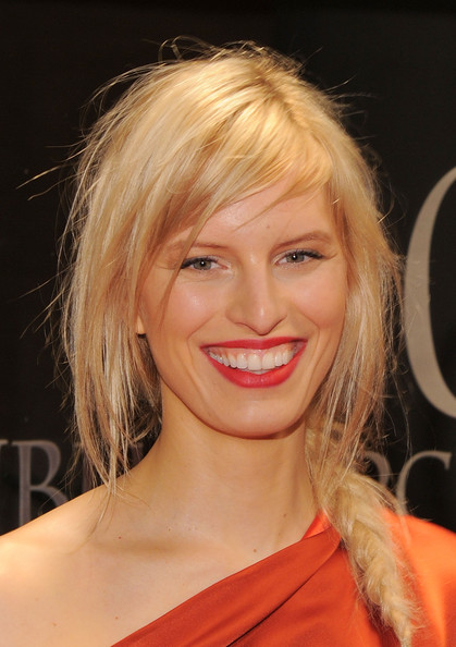 Karolina Kurkova Long Braided Hairstyle