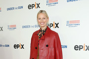 Karolina Kurkova Quilted Purse