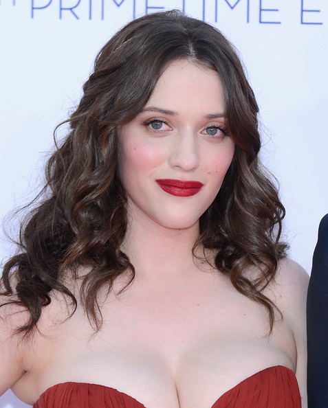 Kat Dennings Long Curls