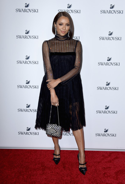 Kat Graham Lace Dress