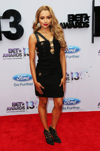 Kat Graham Little Black Dress