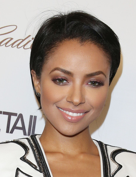 Kat Graham Short Side Part [hair,eyebrow,face,hairstyle,skin,chin,forehead,lip,beauty,eyelash,soho house,west hollywood,california,details celebrates the 2013 hollywood mavericks,kat graham]