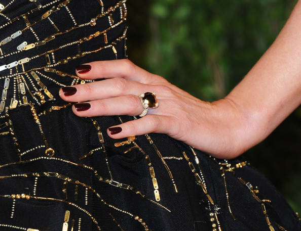 Kate Beckinsale Gemstone Ring