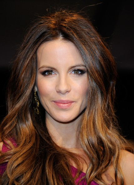 Kate Beckinsale Without Hair Extensions Blonde Ombre Hair Colour