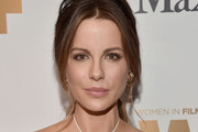 Kate Beckinsale Loose Ponytail