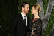 Kate Bosworth's Sheer Cocktail Dress at the 2012 Oscars Party