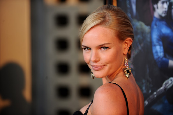 Kate Bosworth Dangling Gemstone Earrings