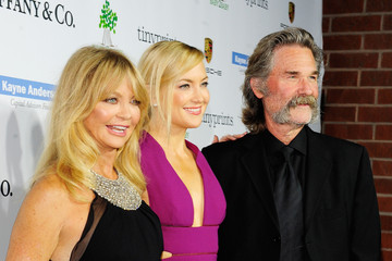 Kate Hudson Kurt Russell The 2014 Baby2Baby Gala, Presented By Tiffany & Co - Red Carpet
