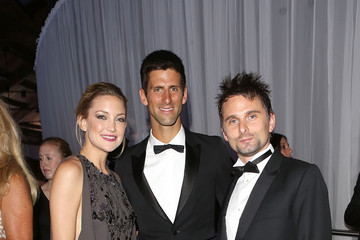 Kate Hudson Matt Bellamy Arrivals at the Novak Djokovic Foundation Dinner— Part 5