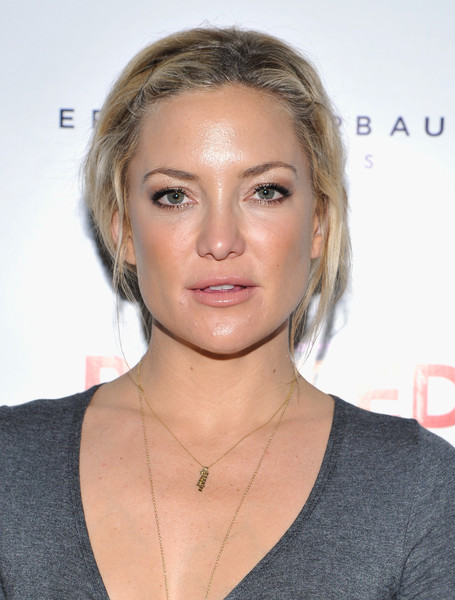 Kate Hudson Messy Updo