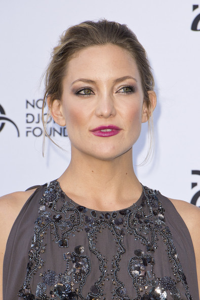 Kate Hudson Twisted Bun