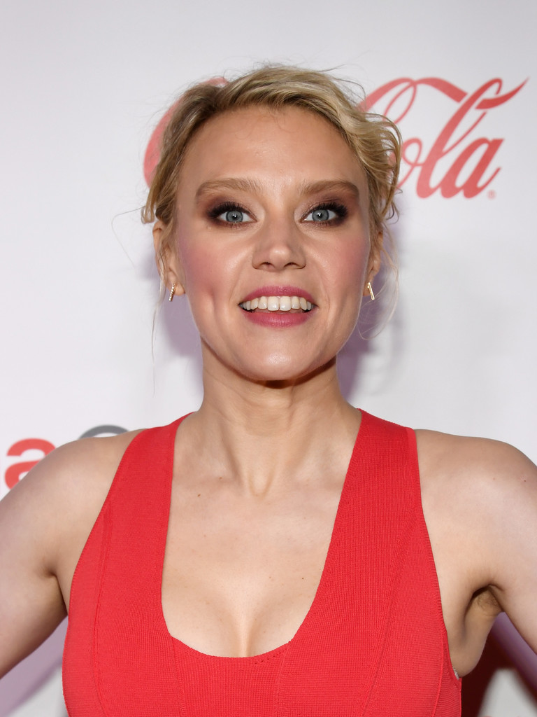Kate Mckinnon Messy Updo Updos Lookbook Stylebistro