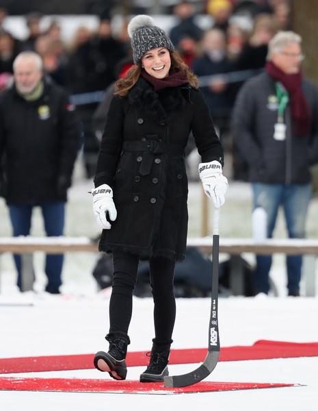 Kate Middleton Snow Boots