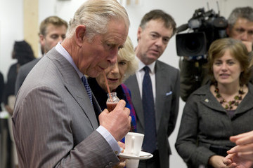 Kate Middleton Camilla Parker Bowles Prince Charles Visits Sky — Part 2
