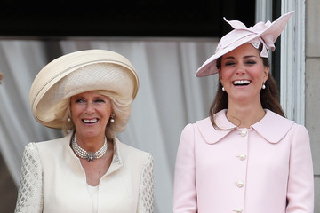Kate Middleton Camilla Parker Bowles Queen Elizabeth II's Birthday Parade: Trooping The Colour