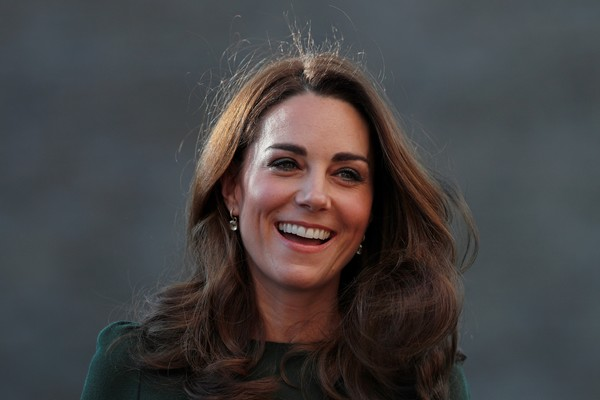 Kate Middleton Long Curls [hair,face,facial expression,smile,beauty,eyebrow,head,hairstyle,lady,chin,catherine,support line,duchess,cambridge,lewisham,england,duchess of cambridge launches family action support line,charity,family action]