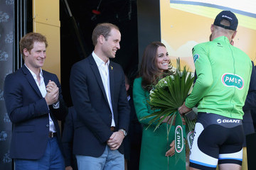 Kate Middleton Prince Harry The Duke & Duchess of Cambridge And Prince Harry Attend The Tour De France Grand Depart