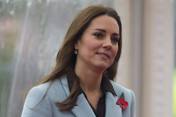 Kate Middleton Prince Philip Duke & Duchess Of Cambridge Visit The Valero Pembroke Refinery