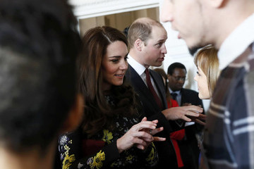 Kate Middleton Prince William The Duke & Duchess Of Cambridge And Prince Harry Outline Plans For Heads Together Ahead Of The 2017 Virgin Money London Marathon