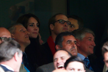 Kate Middleton Prince William Australia v Wales - Group A: Rugby World Cup 2015