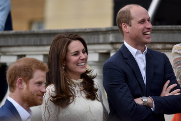 Kate Middleton Prince William Party at the Palace