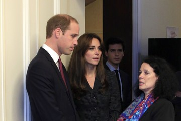 Kate Middleton Prince William The Duke and Duchess of Cambridge Sign Book of Condolences